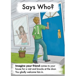 Says Who? Gospel Tract (100...